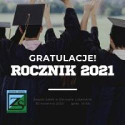 Zakończenie roku maturzystów 2021
